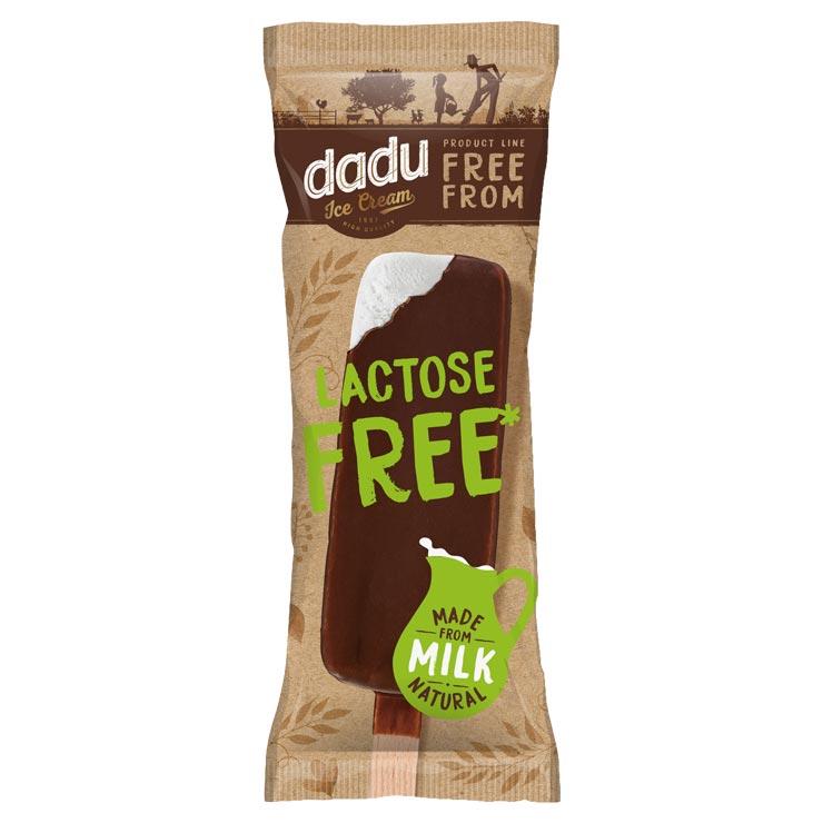 Dadu Lactose Free Glazed Vanilla Ice Cream