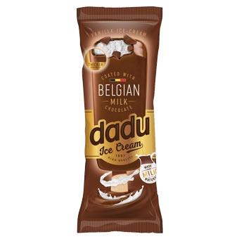 Dadu Vanilla Ice Cream Coated with Belgian Milk Chocolate