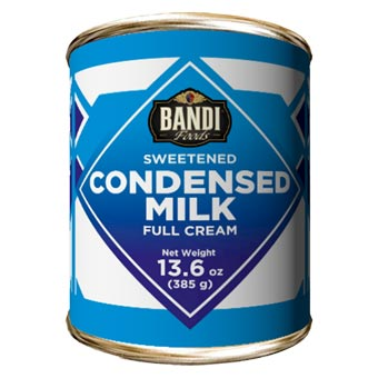 Bandi Full Cream Sweetened Condensed Milk with Easy Opener