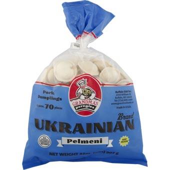 Grandmas Ukrainian Pork Dumplings