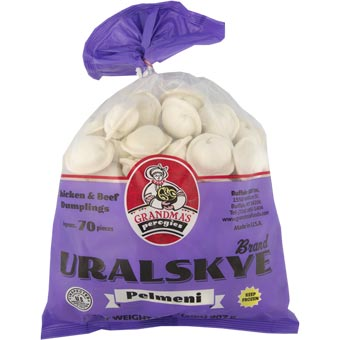 Grandmas Uralskye Chicken & Beef Dumplings