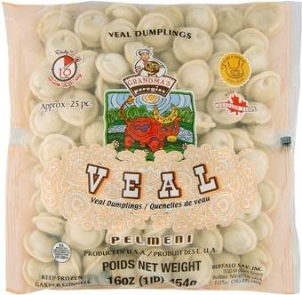 Grandma's Veal Soup Mini Dumplings