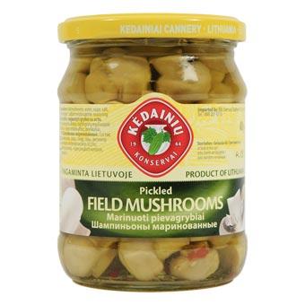 Kedainiu Champignon Marinated Mushrooms