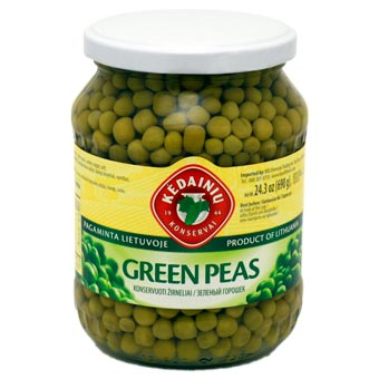 Kedainiu Green Peas 690g