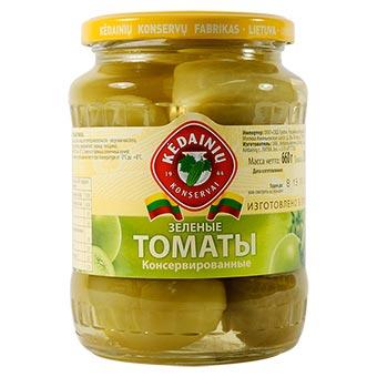 Kedainiu Pickled Green Tomatoes