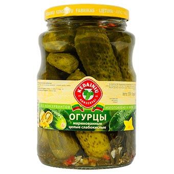 Kedainiu Whole Pickled Cucumbers in Brine 1570g