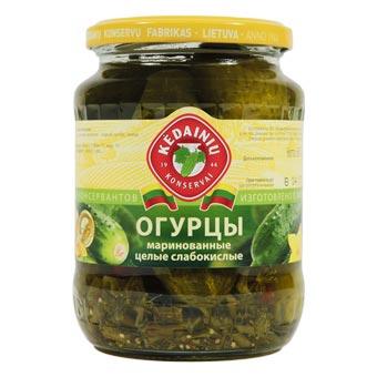 Kedainiu Whole Pickled Cucumbers in Brine