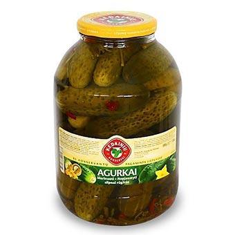 Kedainiu Whole Pickled Cucumbers in Brine 3kg