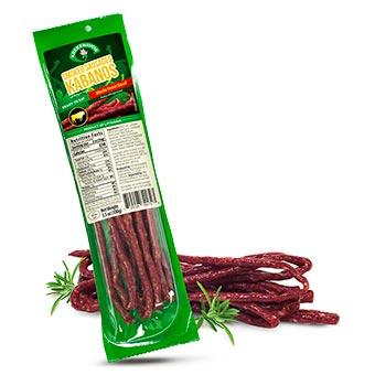 Krekenavos Beef Kabanos Smoked Sausages
