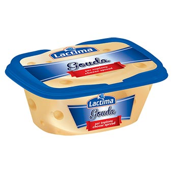 """Lactima """"Gouda"""" Processed Cheese Spread in Cup 150g"""