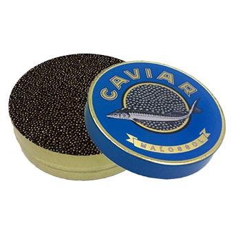 Marky's Black Kaluga Amber Fresh Black Caviar 1kg