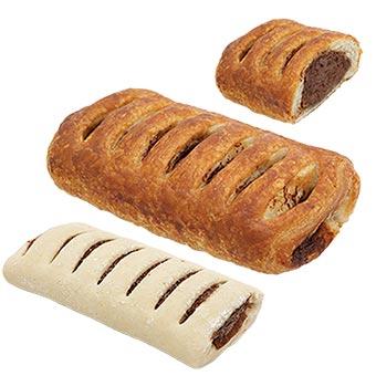 Mantinga Pastry with Hazelnut & Chocolate Cream Filling