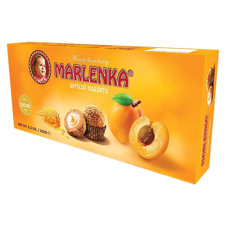 Marlenka Apricot Honey Nuggets 235g