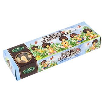 Miltonas Milk Chocolate Flavored Funny Mushrooms Cookies