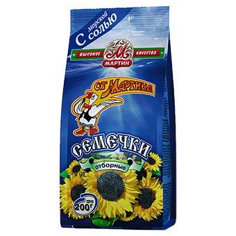 Mr. Martin Salted Sunflower Seeds 200g