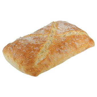Pane Bianco Half Raw Bread 550g
