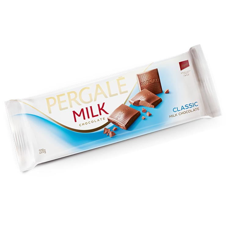 Pergale Classic Milk Chocolate 220g