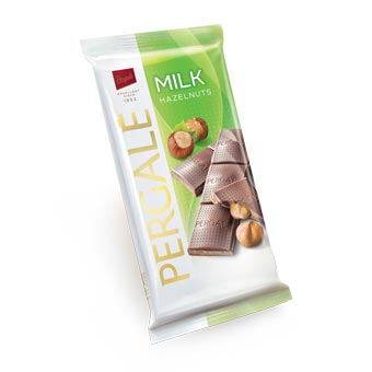 Pergale Milk Chocolate with Whole Hazelnuts