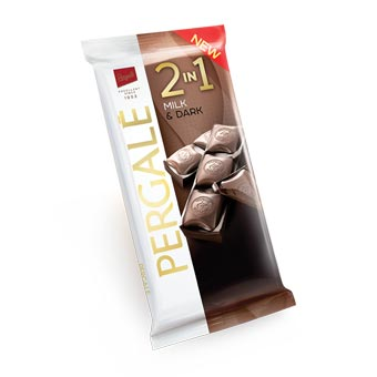 Pergale Two Layer Chocolate 2 In 1