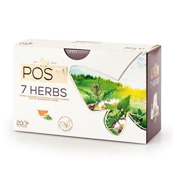 Posti Seven Herbs Herbal Tea 20 Bags