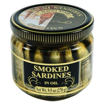 Riga Gold Smoked Sardines in Oil 270g