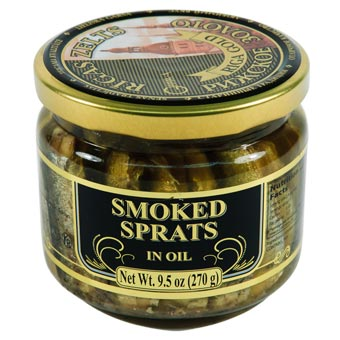 Riga Gold Smoked Sprats in Oil 270g