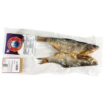 Roach Vobla Dried Salted Fish Vacuum Packed