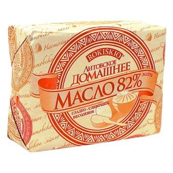 Rokiskio Homemade Butter 82%