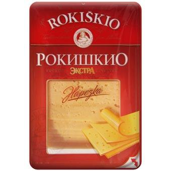 Rokiskio Sliced Extra Cheese