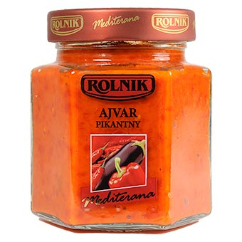 Rolnik Ajvar Hot Relish 314ml