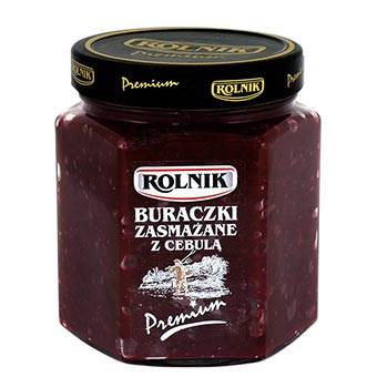 Rolnik Fried Beetroots with Onion 560ml