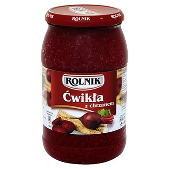 Rolnik Grated Beetroots with Horseradish 900ml
