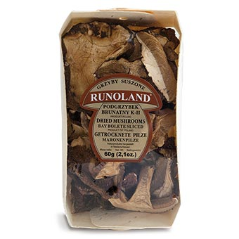 Runoland Bay Bolete Dried Mushrooms 60g