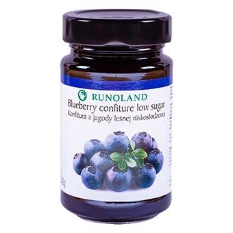 Runoland Blueberry Confiture Low Sugar 240g