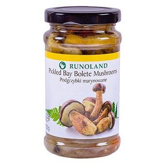Runoland Pickled Bay Bolete Mushrooms 220g