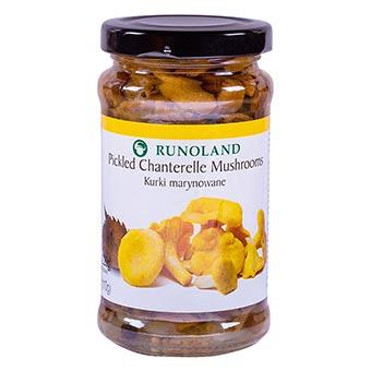 Runoland Pickled Chanterelle Mushrooms 220g