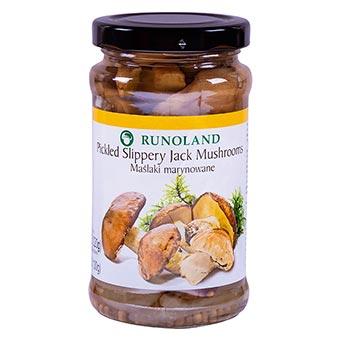 Runoland Pickled Slippery Jack Mushrooms 220g