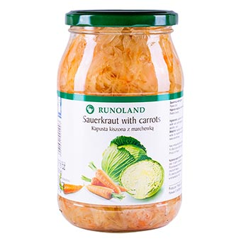 Runoland Sauerkraut with Carrots 900g