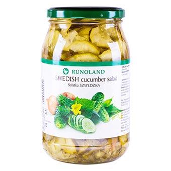 Runoland Swedish Cucumber Salad 900g