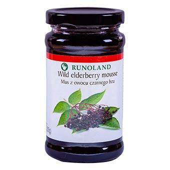 Runoland Wild Elderberry Mousse 250g