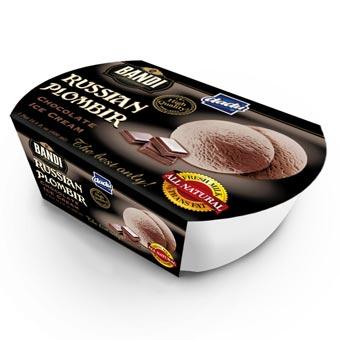 Bandi Russian Plombir Chocolate Ice Cream
