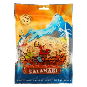 SFJ Shredded Dried Calamari