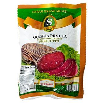 Sabah Brand Govedja Prsuta Smocked & Dried Prosciutto