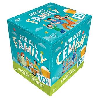 Vanilla Ice Cream For All Family Kosher 10 Pack