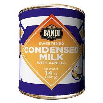 Bandi Vanilla Sweetened Condensed Milk with Easy Opener