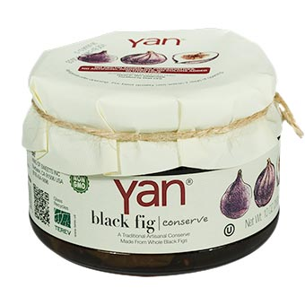 YAN Premium Black Fig Conserve 10oz