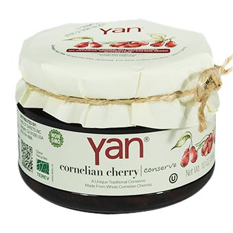 YAN Premium Cornelian Cherry Conserve 10oz