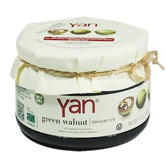 YAN Premium Green Walnut Conserve 10oz