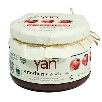 YAN Premium Strawberry Fruit Spread 10oz