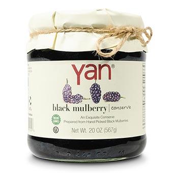 Yan Black Mulberry Conserve 20oz